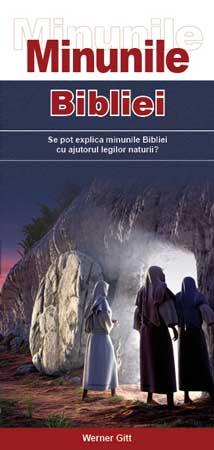 Rumänisch: Wunder der Bibel