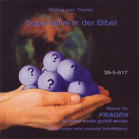 Superlative in der Bibel (Audio-CD)