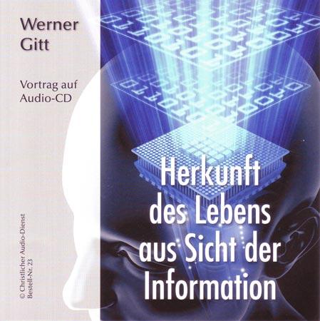 Herkunft des Lebens aus Sicht der Information