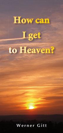 Englisch: Wie komme ich in den Himmel?
