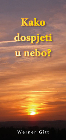 Kroatisch: Wie komme ich in den Himmel?